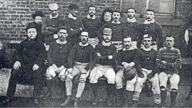 Origen de los uniformes y equipacion del Futbol