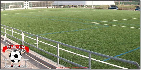 Época actual de las áreas de juego del futbol