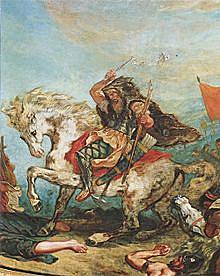 Hunnenkönig Attila fällt in das Oströmische Reich ein