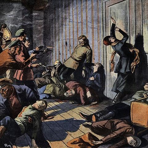 The Romanov Family Assassination