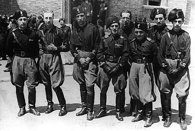 Aparició dels fasci di combattimento, 1919, Itàlia.