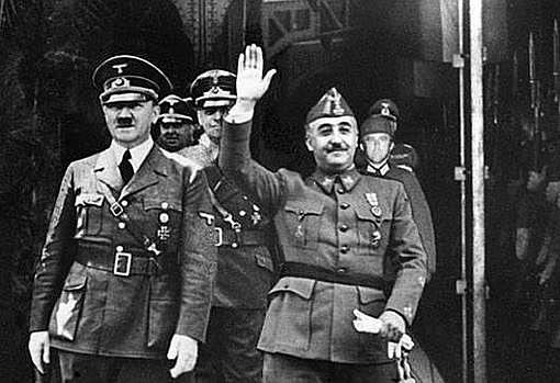 Entrevista de Franco y Hitler en Hendaya