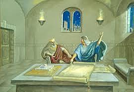 David plans the temple