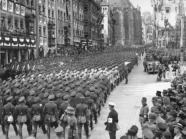 La nit dels ganivets llargs, 1934, Alemanya