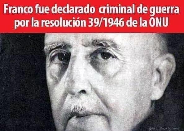 Resolución de la ONU contra Franco