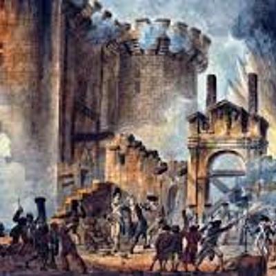 As etapas da Revolução Francesa timeline