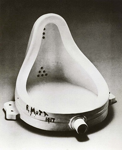 'Fuente' de Duchamp