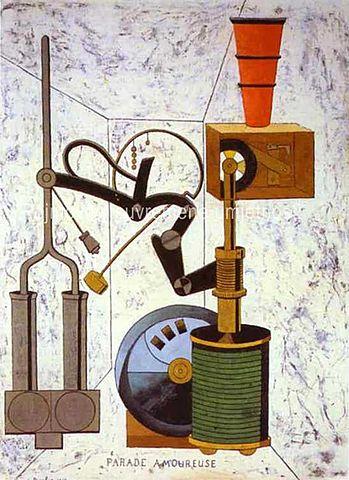'Parada amorosa' de Picabia