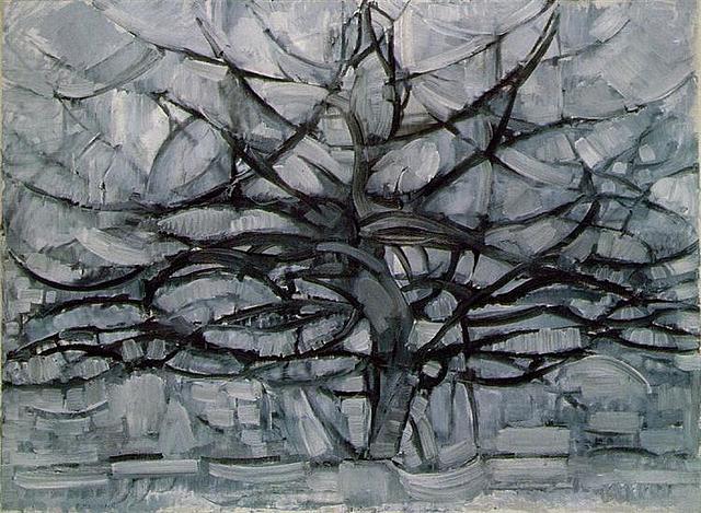 'El árbol gris' de Mondrian