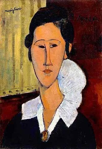 'Retrato de Anna Zborowska' de Modigliani