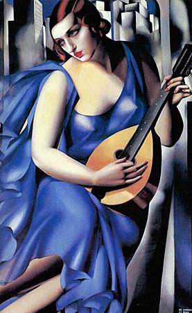 'La música' de Tamara de Lempicka