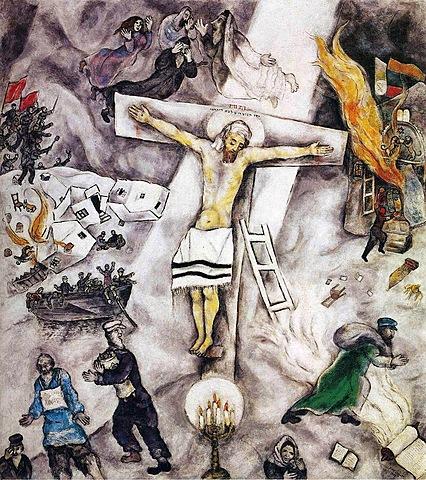 'Crucifixión blanca' de Chagall