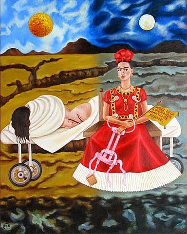 'Árbol de la esperanza, mantente firme' de Frida Kahlo