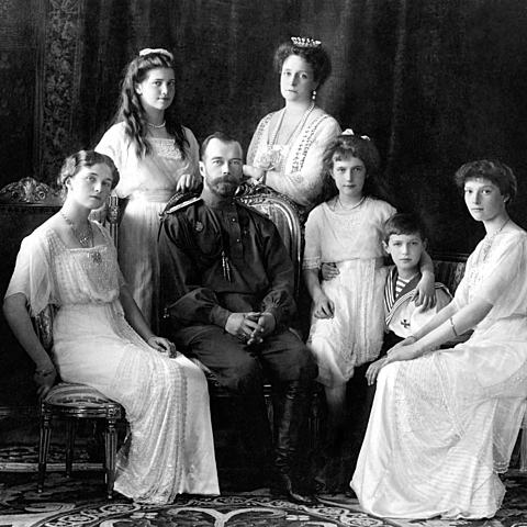 The Romanov family is executed