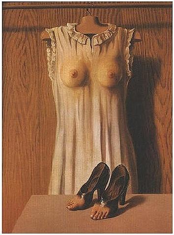 'La filosofía de la alcoba' de Magritte