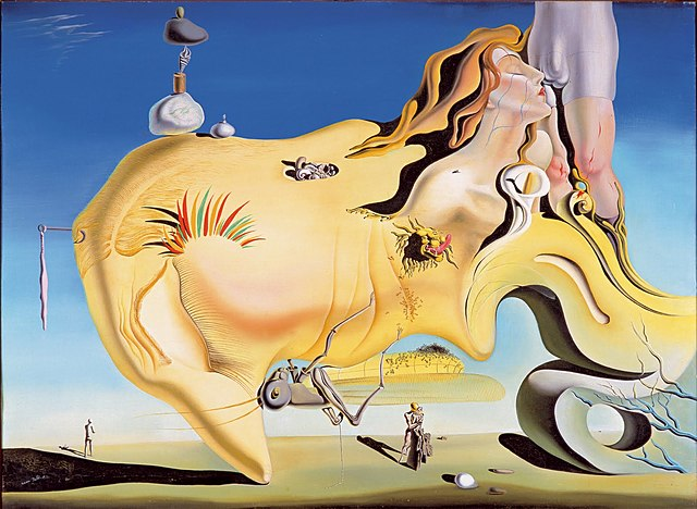 'El gran masturbador' de Dalí