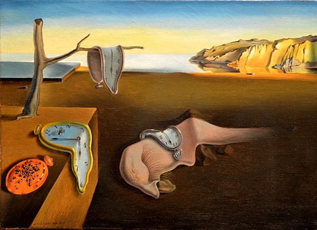 'La persistencia de la memoria' de Dalí