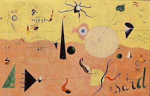 'Paisaje catalán o el cazador' de Miró