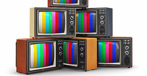 Televisor con imagen a color