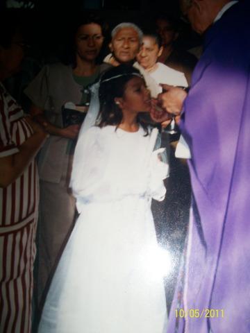 my first communion....