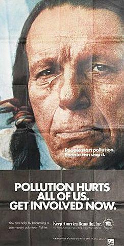 Ecología 1971: Publicidad en EEUU