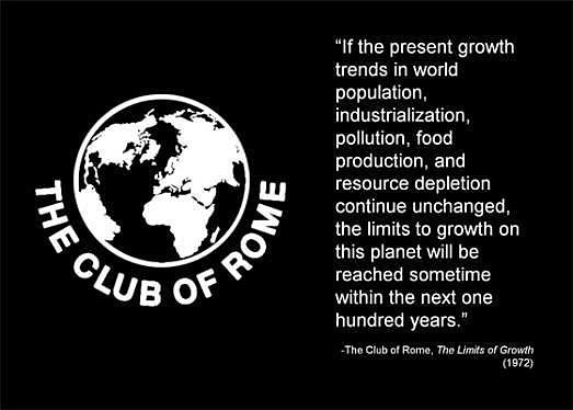 Ecología 1972: Club de Roma