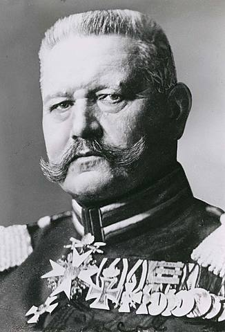 ALEMANYA: Hindenburg, president