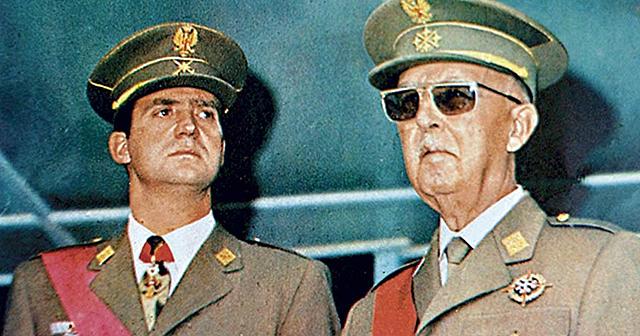 Designación de Juan Carlos como sucesor a título de rey