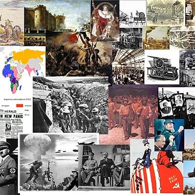 Historia do Mundo Contemporáneo timeline