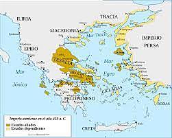 Lliga de Delos 478 aC.
