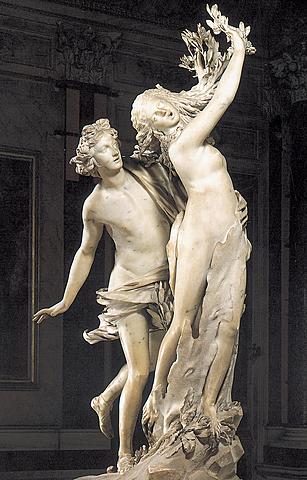 """Realizzazione dell'opera """"Apollo e Dafne"""""""