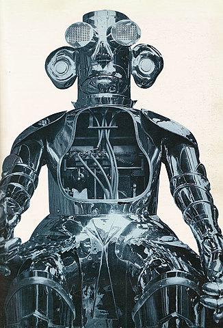 """""""Alpha"""" le robot"""