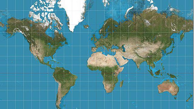 Idea un sistema de representació cartogràfica de la Terra.