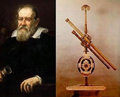 Construeix el primer telescopi.