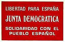 Constitución de la Junta Democrática
