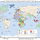 World history wall maps imperialism in modern world