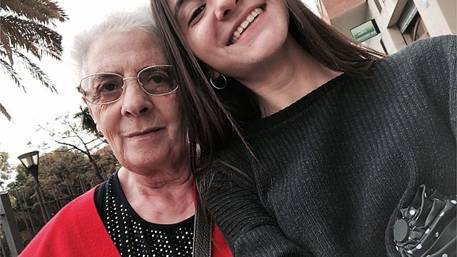 La meva àvia Adoración Encinas
