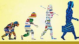 La historia de marketing: de 1450 a 2012 timeline