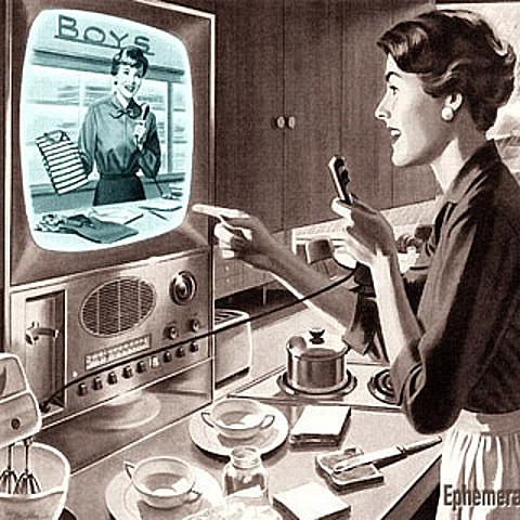 Surge la publicidad televisiva.