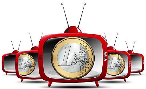 Inversion televisiva crece
