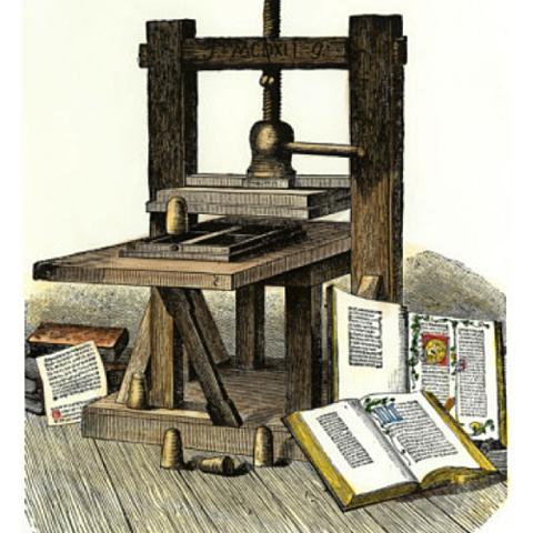 La invenció de la Impremta