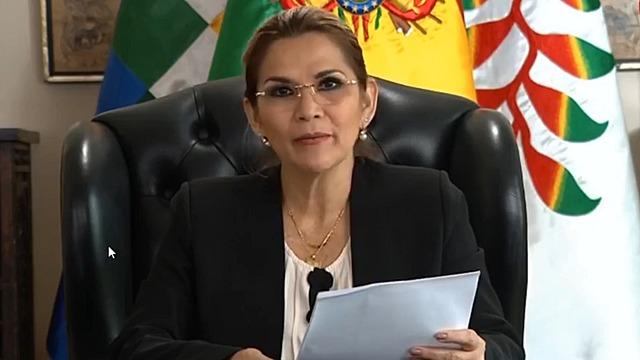 """Áñez anuncia """"cuarentena dinámica"""" desde el 11 de mayo con flexibilizaciones regionales"""