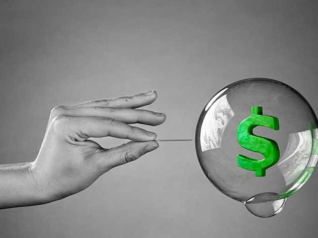 Estalla la burbuja .com