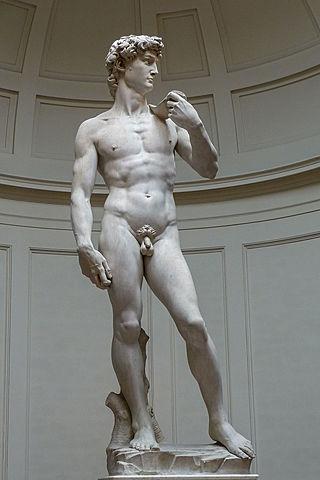 La creació del David de Michelangelo Buonarroti