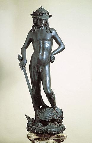 La creació del David de bronze de Donatello di Niccolò