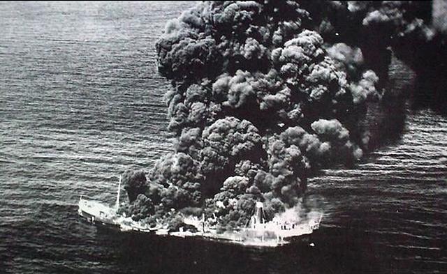 Alemania lanzo 2 torpedos a barcos petroleros Mexicanos
