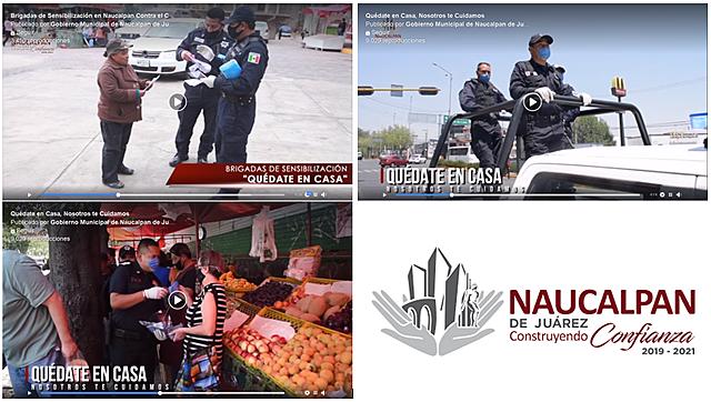 - Quédate en Casa, Nosotros te Cuidamos, El Gobierno de #Naucalpan - Brigadas de Sensibilización en Naucalpan Contra el COVID19