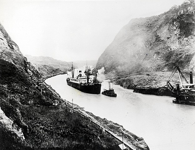 Panama Canal Construction Begins