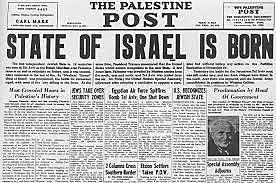 Nace el estado de Israel