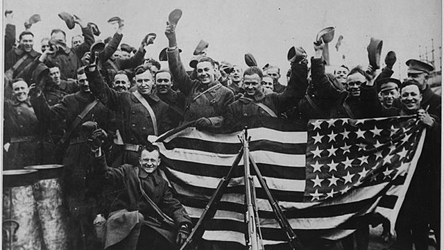 The US joins World War 1